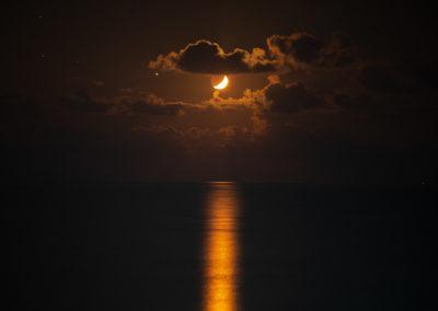 Mondlicht über Fetiye