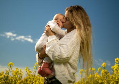 Babyfotografie mit Blitz