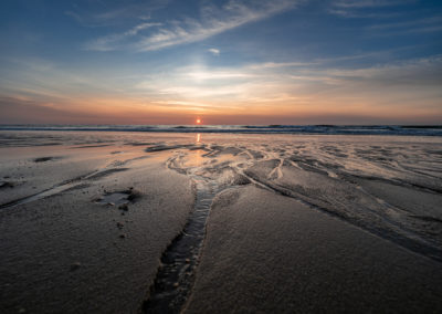 Sonnenuntergang Kampen